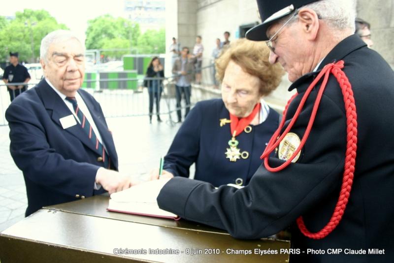 Cérémonie INDOCHINE Arc de Triomphe PARIS 8 juin 2010 report Img_6916