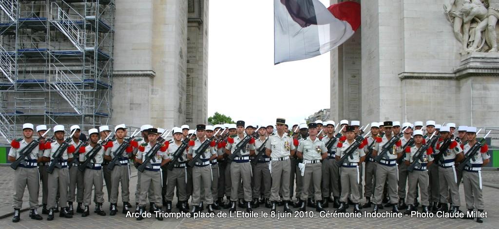 Cérémonie INDOCHINE Arc de Triomphe PARIS 8 juin 2010 report Img_7010
