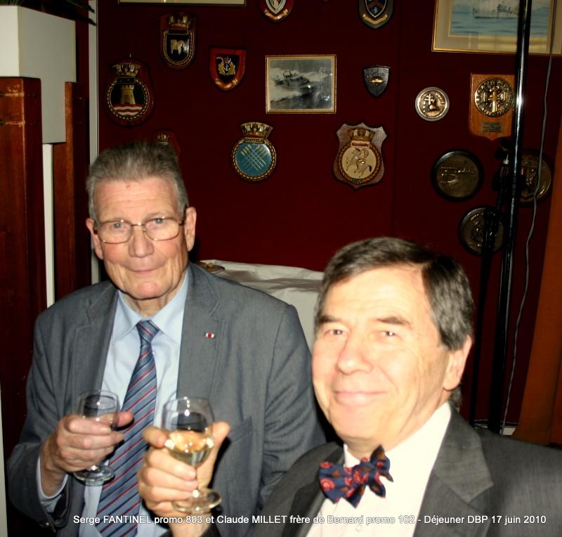 Serge FANTINEL promo 803 et Claude MILLET frère de Bernard promo 102 Cherchell - 17 juin 2010 Img_7110