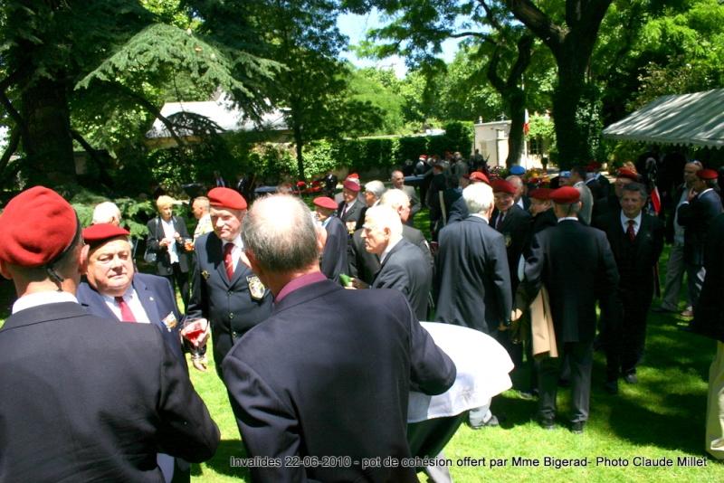 INVALIDES cocktail de cohésion et remerciement offert par Madame Bigeard reportage photos Img_7418