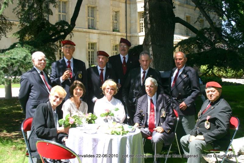 INVALIDES cocktail de cohésion et remerciement offert par Madame Bigeard reportage photos Img_7421