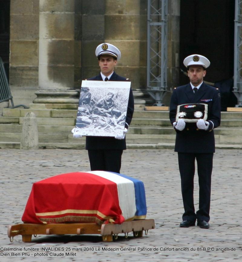 Le NEPVOU de CAFORT Patrice - Médecin général - ancien du 8° B.P.C. Hommage aux INVALIDES 25 mars 2010 - reportage en ligne Invali11