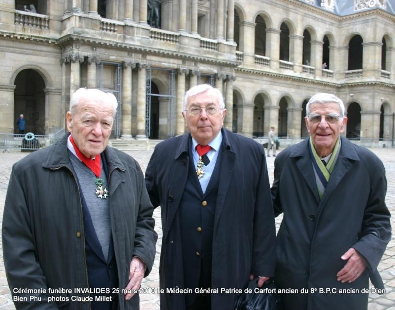 Le NEPVOU de CAFORT Patrice - Médecin général - ancien du 8° B.P.C. Hommage aux INVALIDES 25 mars 2010 - reportage en ligne Invali17