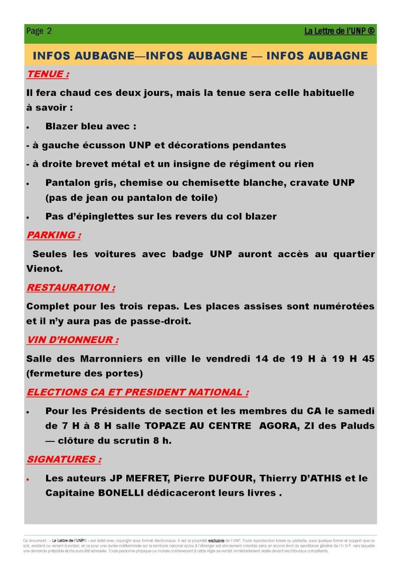 14 et 15 mai 2010 - CONGRES UNP à AUBAGNE à la Légion Etrangère La_let11