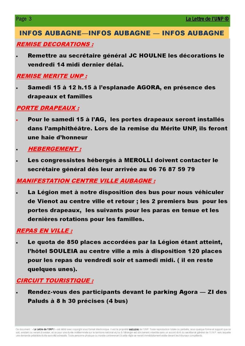 14 et 15 mai 2010 - CONGRES UNP à AUBAGNE à la Légion Etrangère La_let12