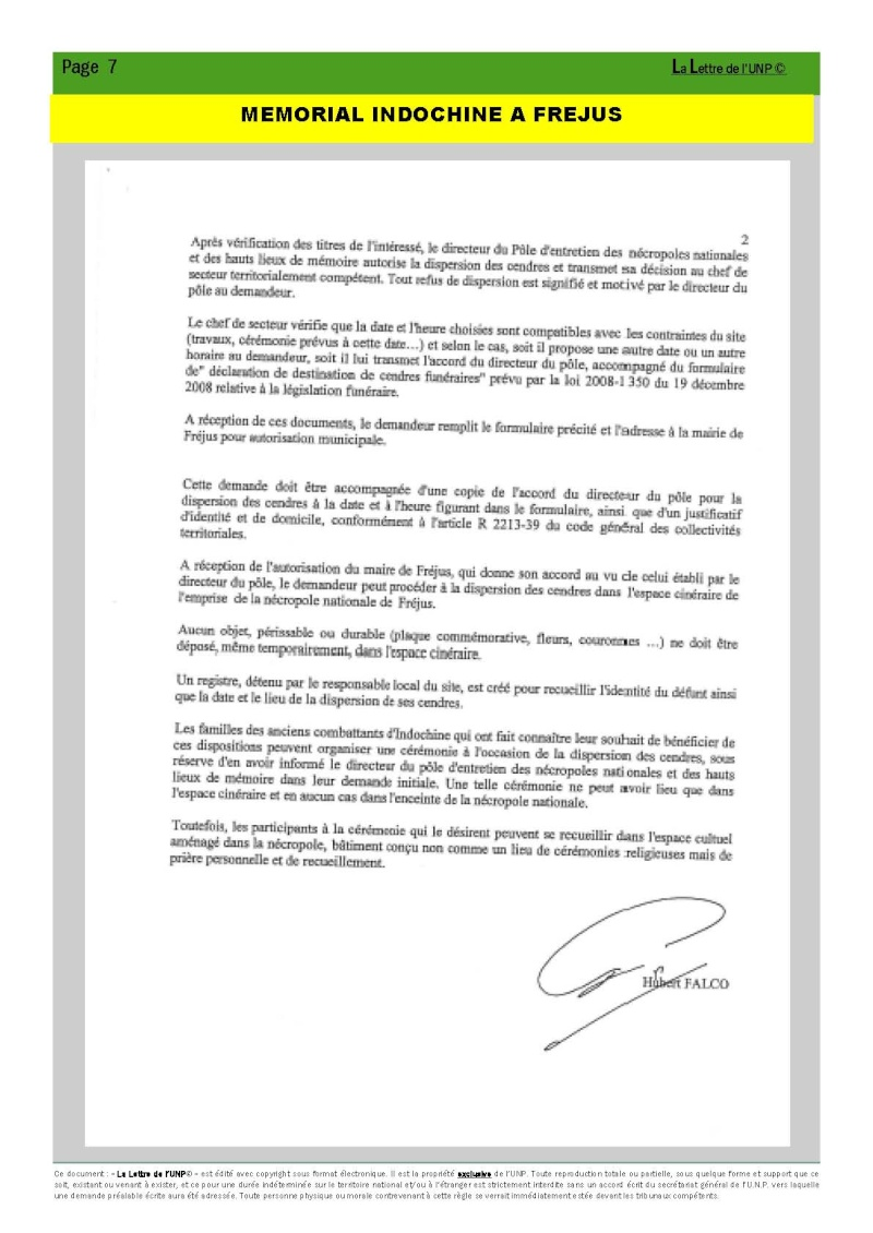 14 et 15 mai 2010 - CONGRES UNP à AUBAGNE à la Légion Etrangère La_let16