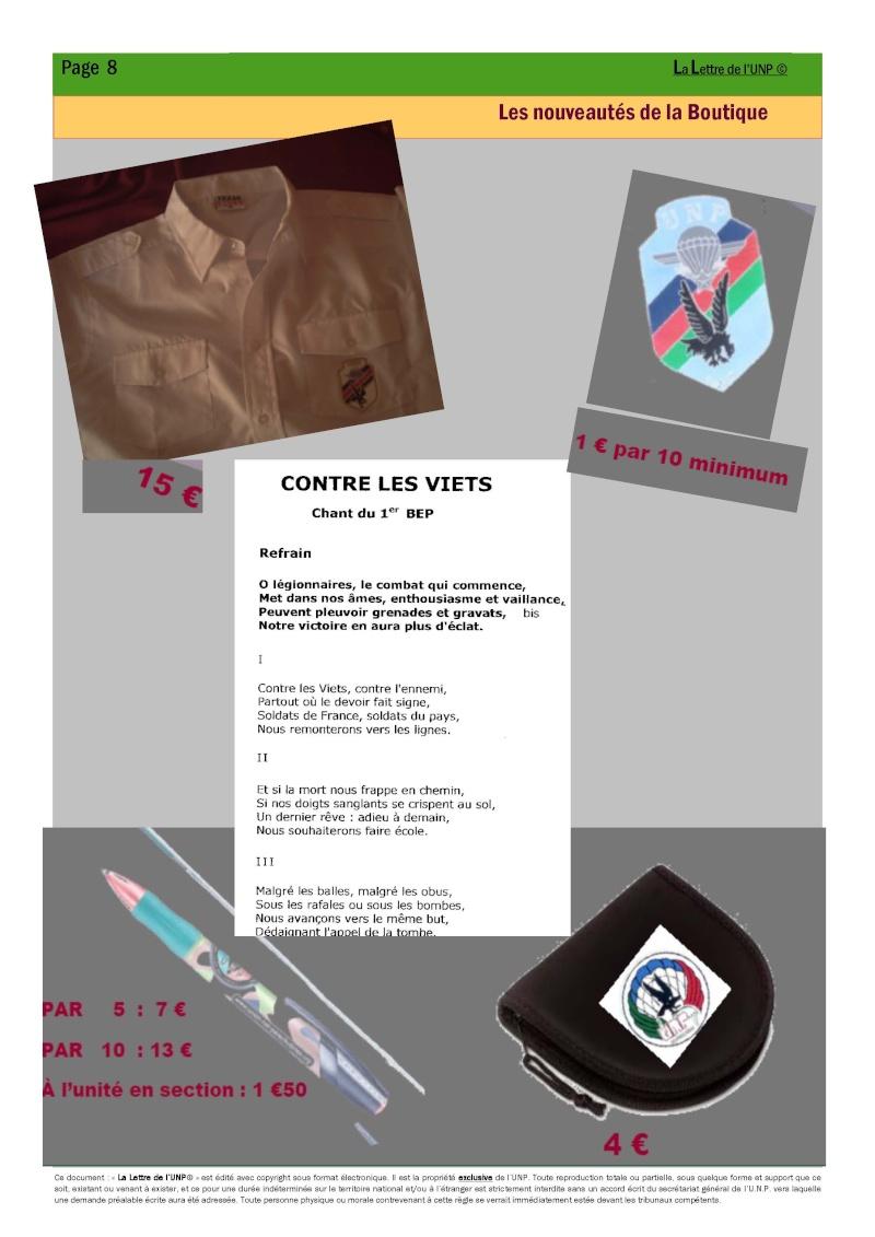 14 et 15 mai 2010 - CONGRES UNP à AUBAGNE à la Légion Etrangère La_let17