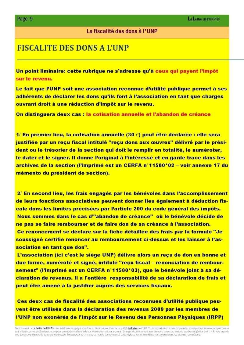14 et 15 mai 2010 - CONGRES UNP à AUBAGNE à la Légion Etrangère La_let18