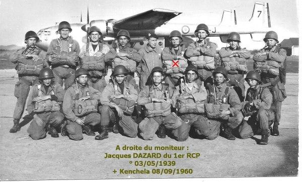 1960 - DAZARD Jacques 1er RCP Kenchela 08-09-1960 Noratl12