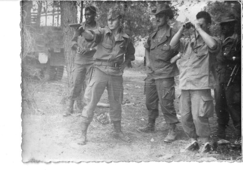 """EOR Bernard MILLET: """"parachuté"""" au 9e RCP, puis Cherchell, puis le 14e RCP, mais... Sgtama10"""