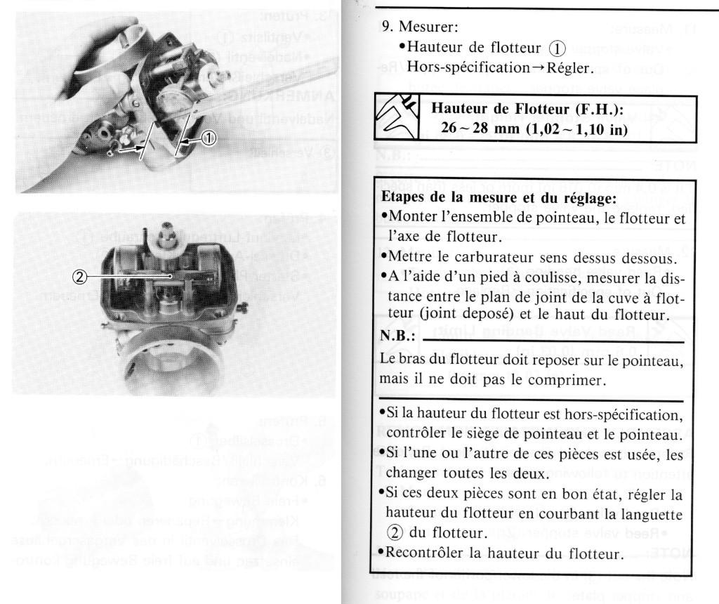 Problème démarrage YAM WR250Z de1996 - Page 2 Niveau11