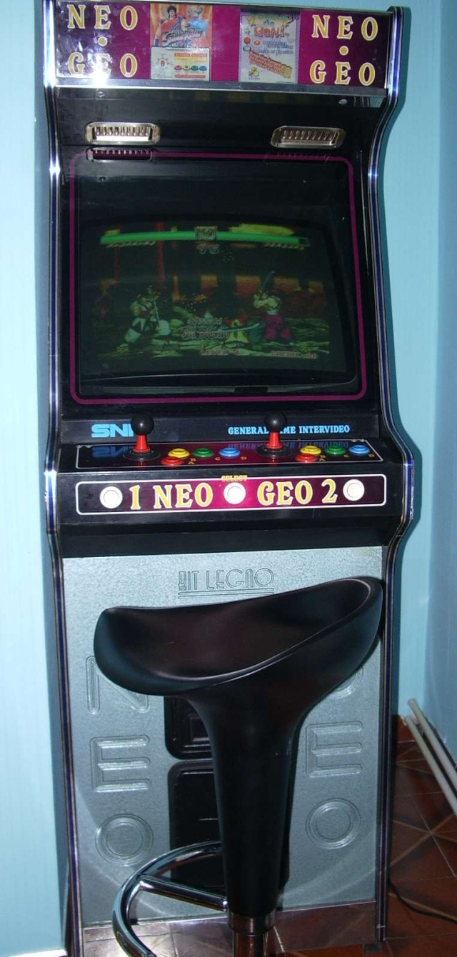 [VENDUE] Borne Neo Geo / Slot 4 Bornem12