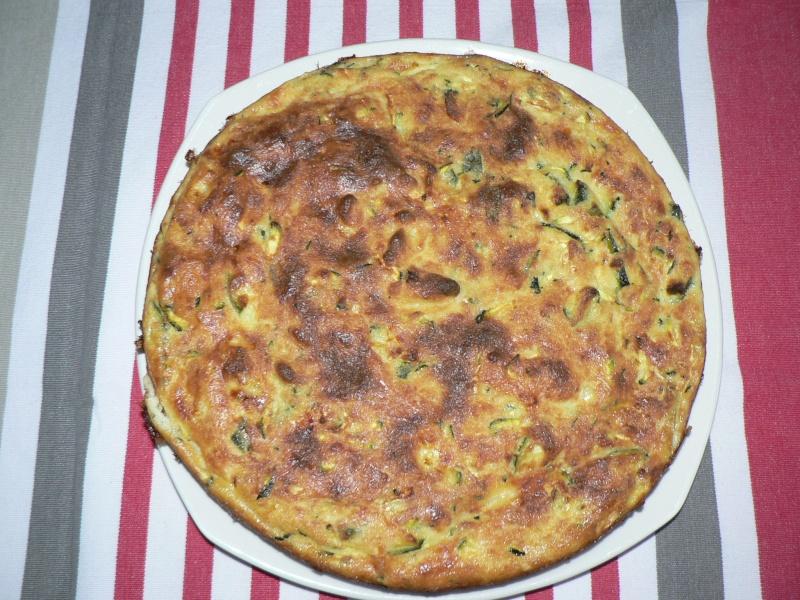Gâteau de courgettes à la menthe et coulis de tomate - Page 2 Gateau10