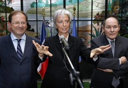 France: les 5% de chomage compromis pour 2012, estime Bercy Christ10