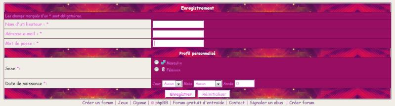 [Tuto 1] S'inscrire sur un forum et se connecter sur son compte Sans_t11