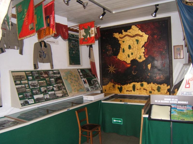 le musée des Chantier  de Jeunesse de Châtelguyon Dscf4616