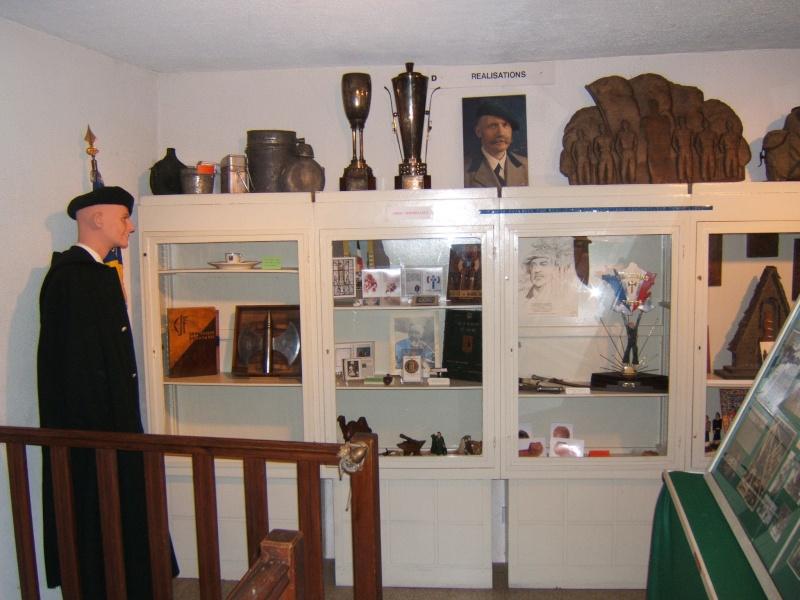 le musée des Chantier  de Jeunesse de Châtelguyon Dscf4617
