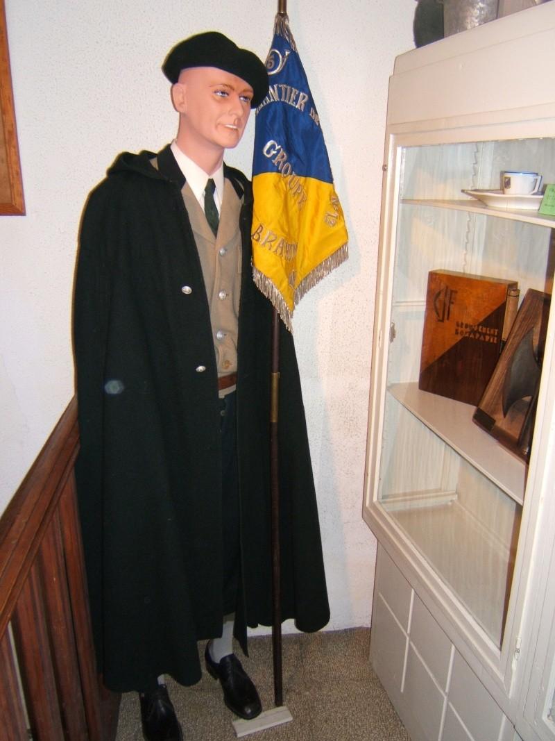 le musée des Chantier  de Jeunesse de Châtelguyon Dscf4618