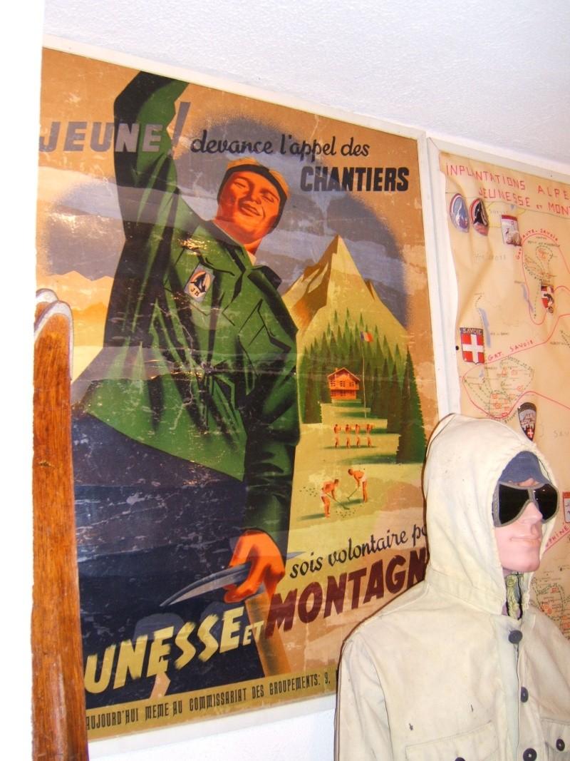 le musée des Chantier  de Jeunesse de Châtelguyon Dscf4619