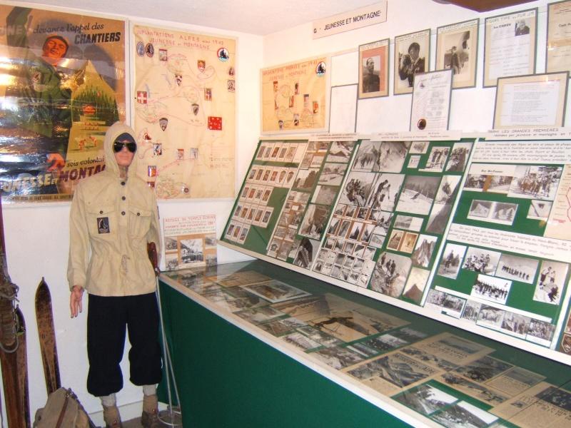 le musée des Chantier  de Jeunesse de Châtelguyon Dscf4620