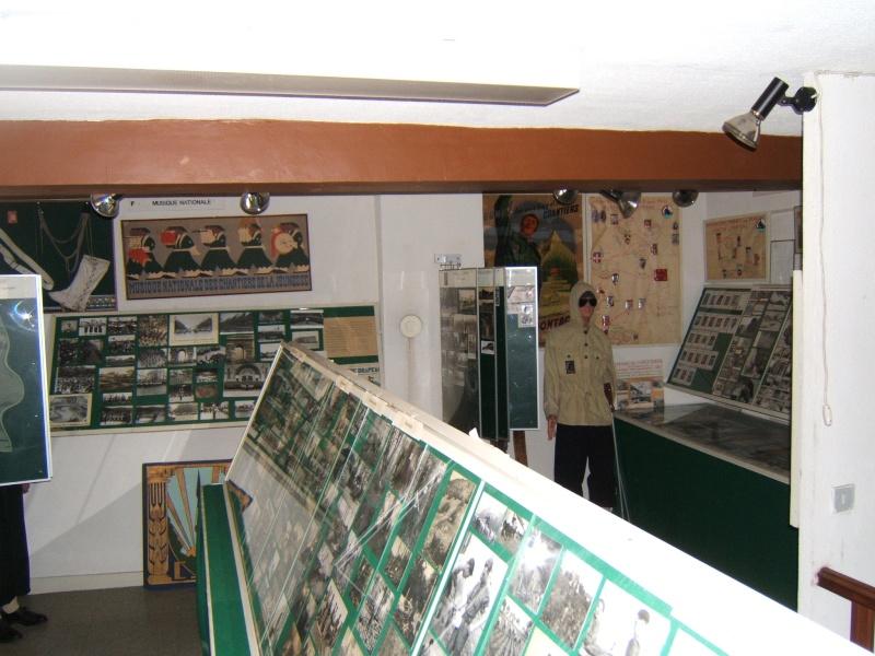 le musée des Chantier  de Jeunesse de Châtelguyon Dscf4712