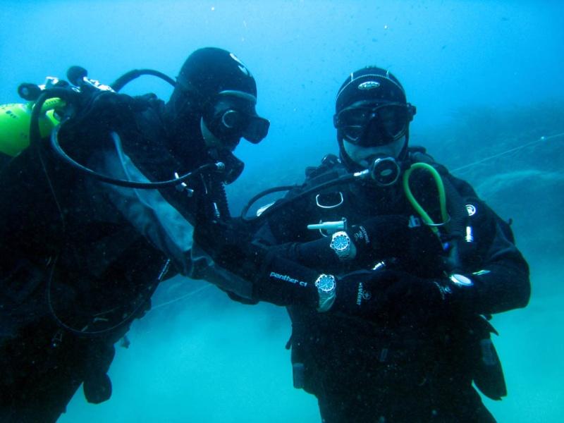 """team de plongée sponsorisé par """"rolex"""" Days3410"""