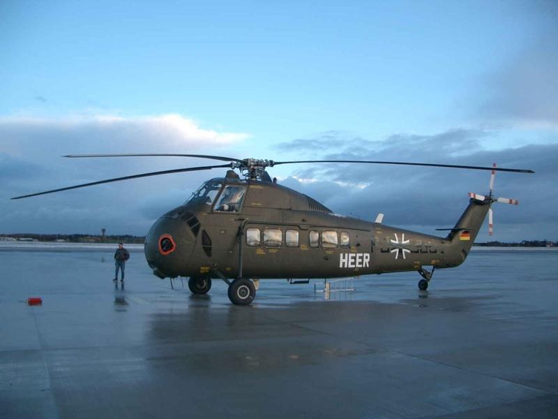 Sikorsky H-34 S58-210