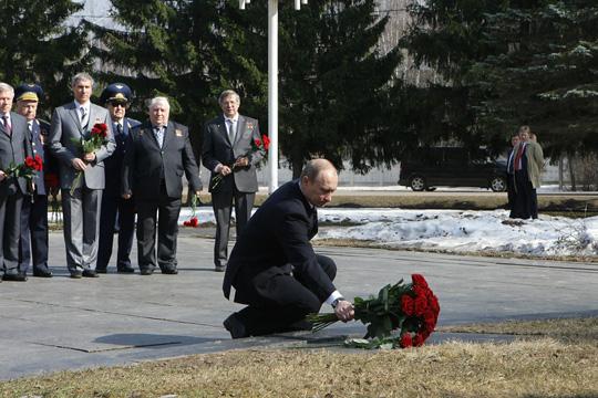 Poutine visite le centre de formation des cosmonautes Photol10