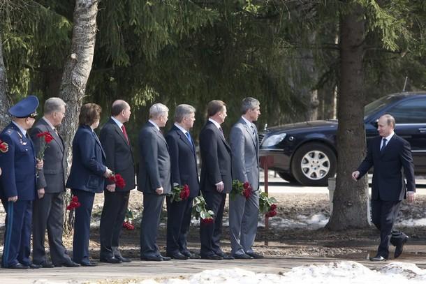Poutine visite le centre de formation des cosmonautes T11