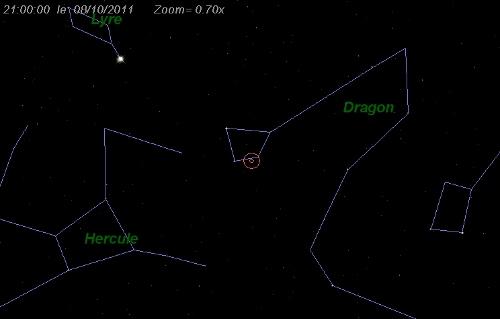 Observation samedi 8 octobre 2011 - spéciale Draconides 08101110