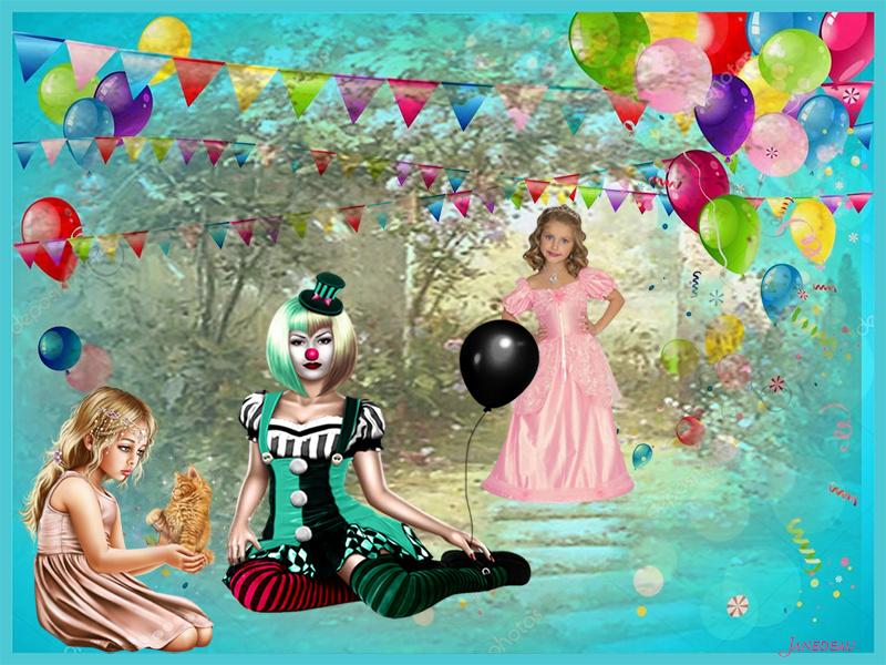 Défi du 11-12 Novembre / Femme clown Fete_210