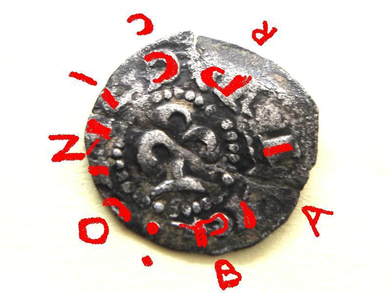 Dinero de Ramon Berenguer III (1096-1131), ceca Barcelona Bereng10
