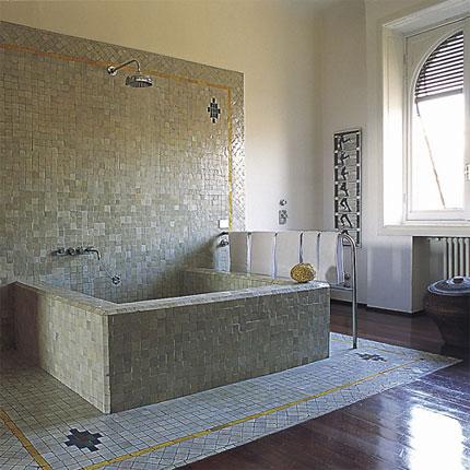 Photos de Salle de Bains avec Mosaïques G_003410