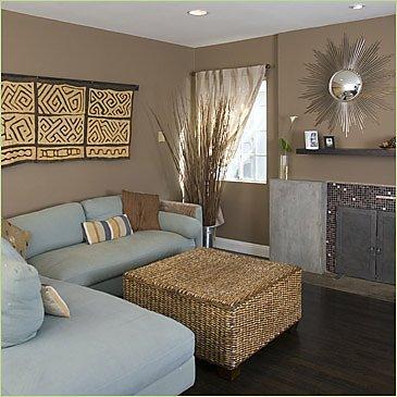 déco conseil) couleurs assorties à un canapé chocolat - Page 1
