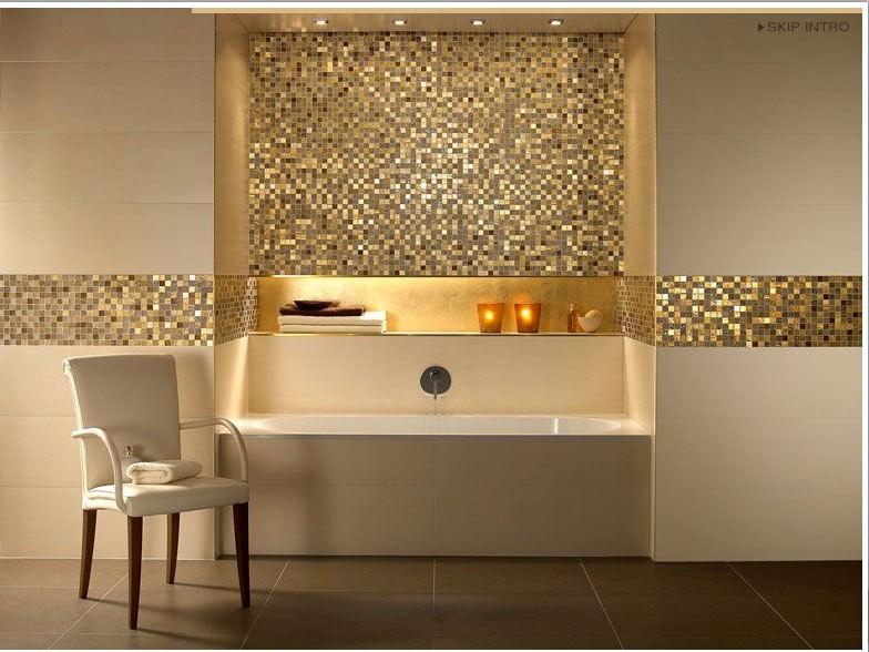 photos de salle de bains avec mosaques