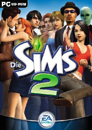 Recherche le jeux Sims 2 sur PC Sims210