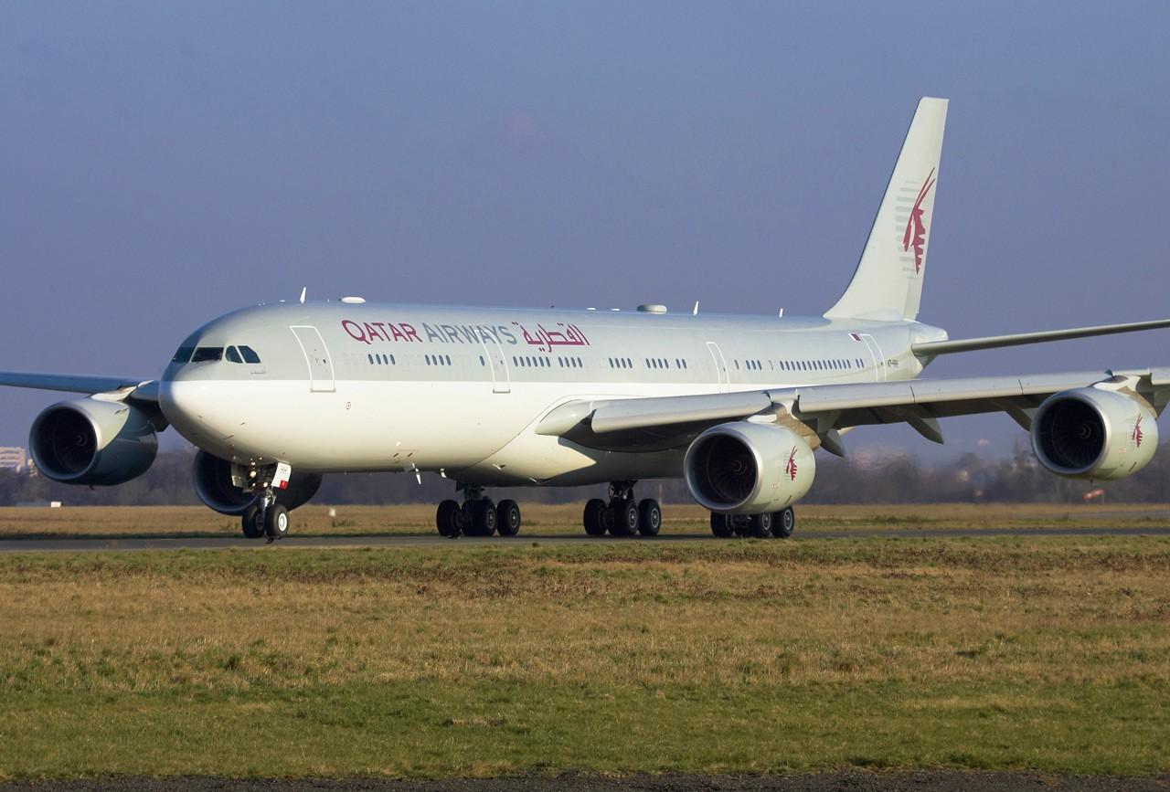 Spotting du 07/03/2010: A345 Qatar Jp0r9518