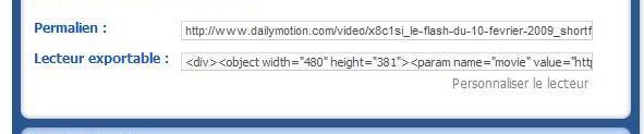Vidéos Daily motion Code_e10