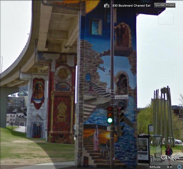 STREET VIEW : les fresques murales - MONDE (hors France) Fresqu10