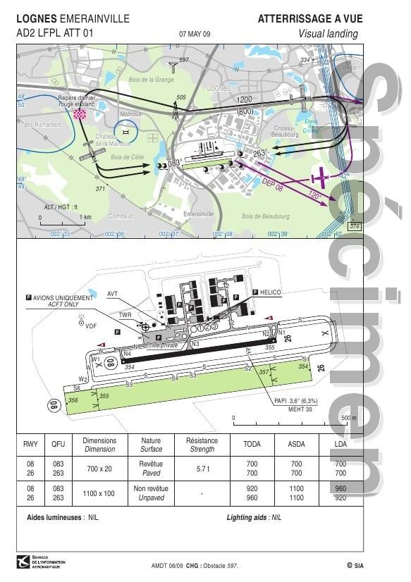 Aérodrome de Lognes-Emerainville  (LFPL) Lfpl_a11