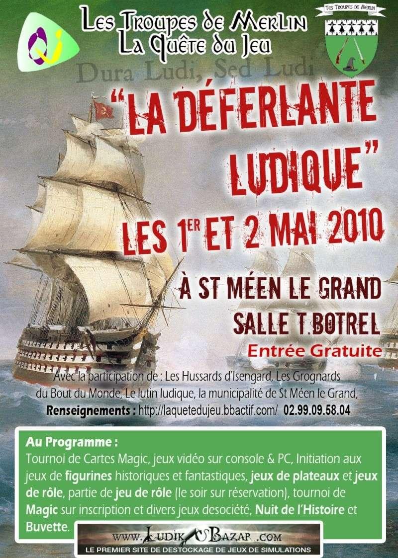 «Déferlante ludique»à St-Meen-le-Gd (35), 1 et 2 mai Affich12