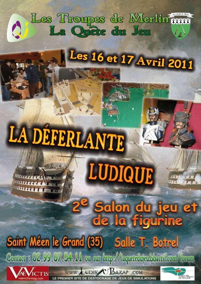 Déferlante Ludique 2011 - Saint Méen le Grand (35) Affich23