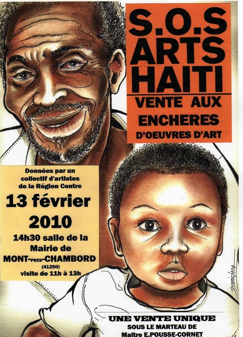 Action S.O.S Haiti Affich10