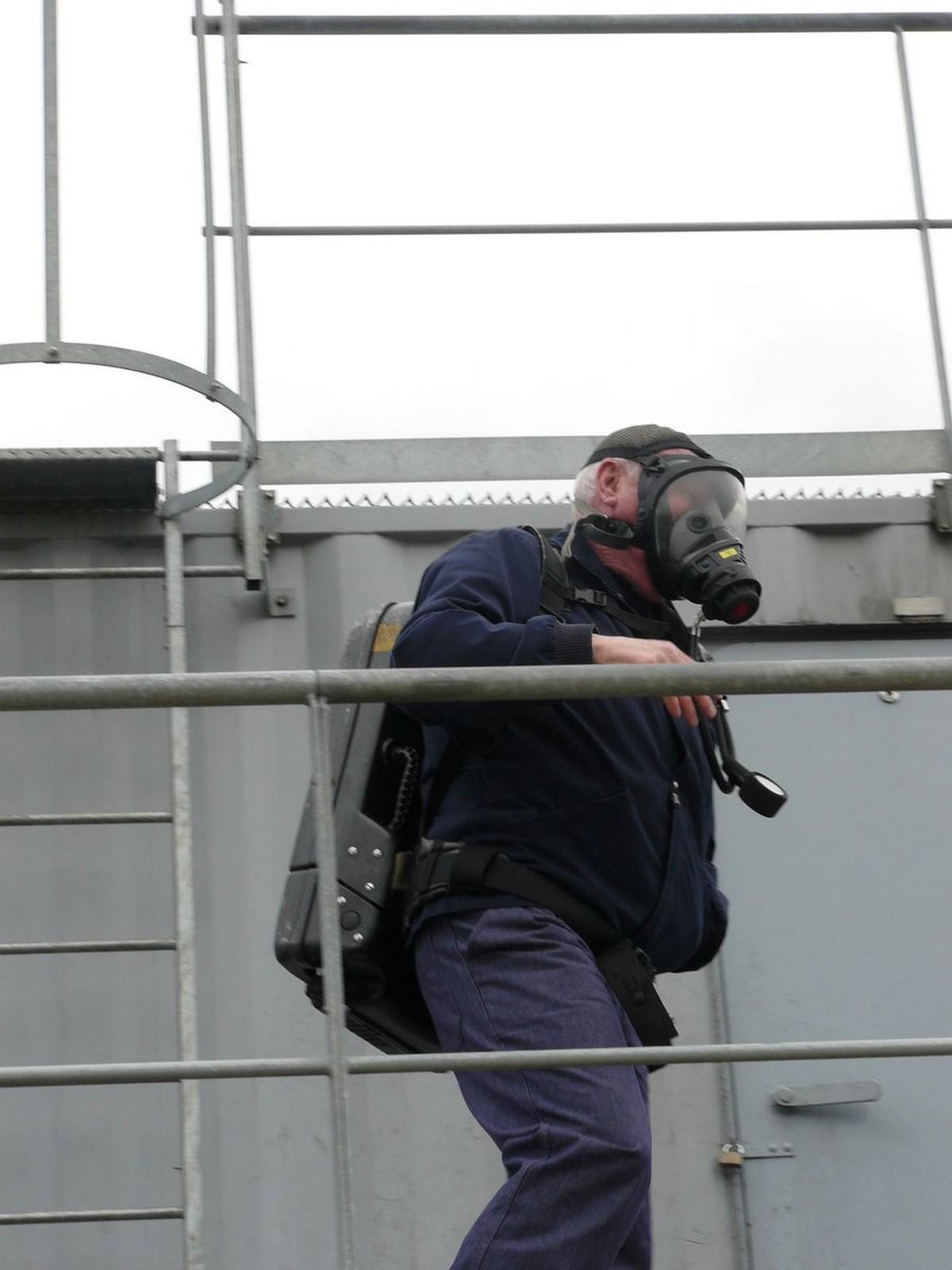 Centre d'Entrainement Securité du Portzic à Brest 2013