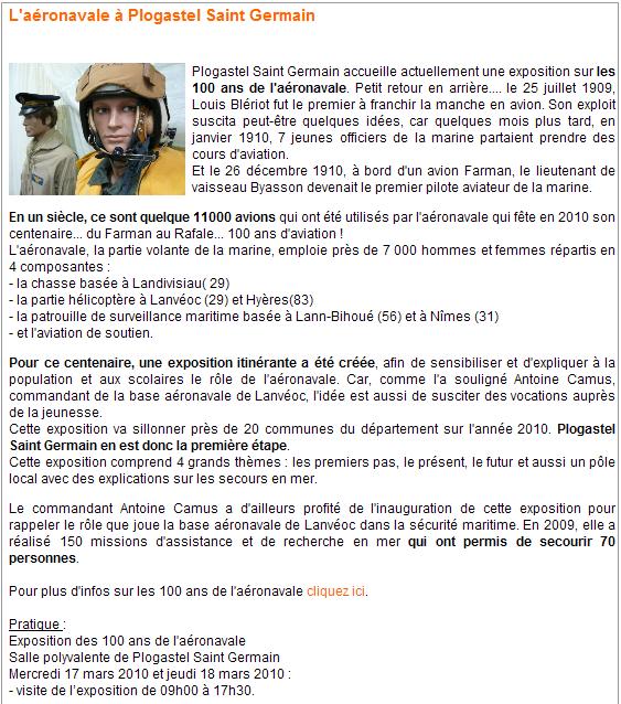 100 ème anniversaire de l'Aéronautique navale 310