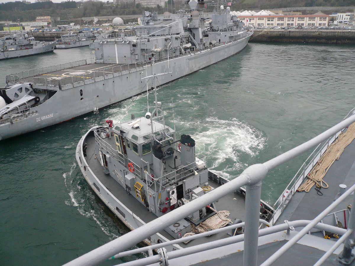 [Les ports militaires de métropole] Port de Brest - TOME 1 - Page 21 5on_po10