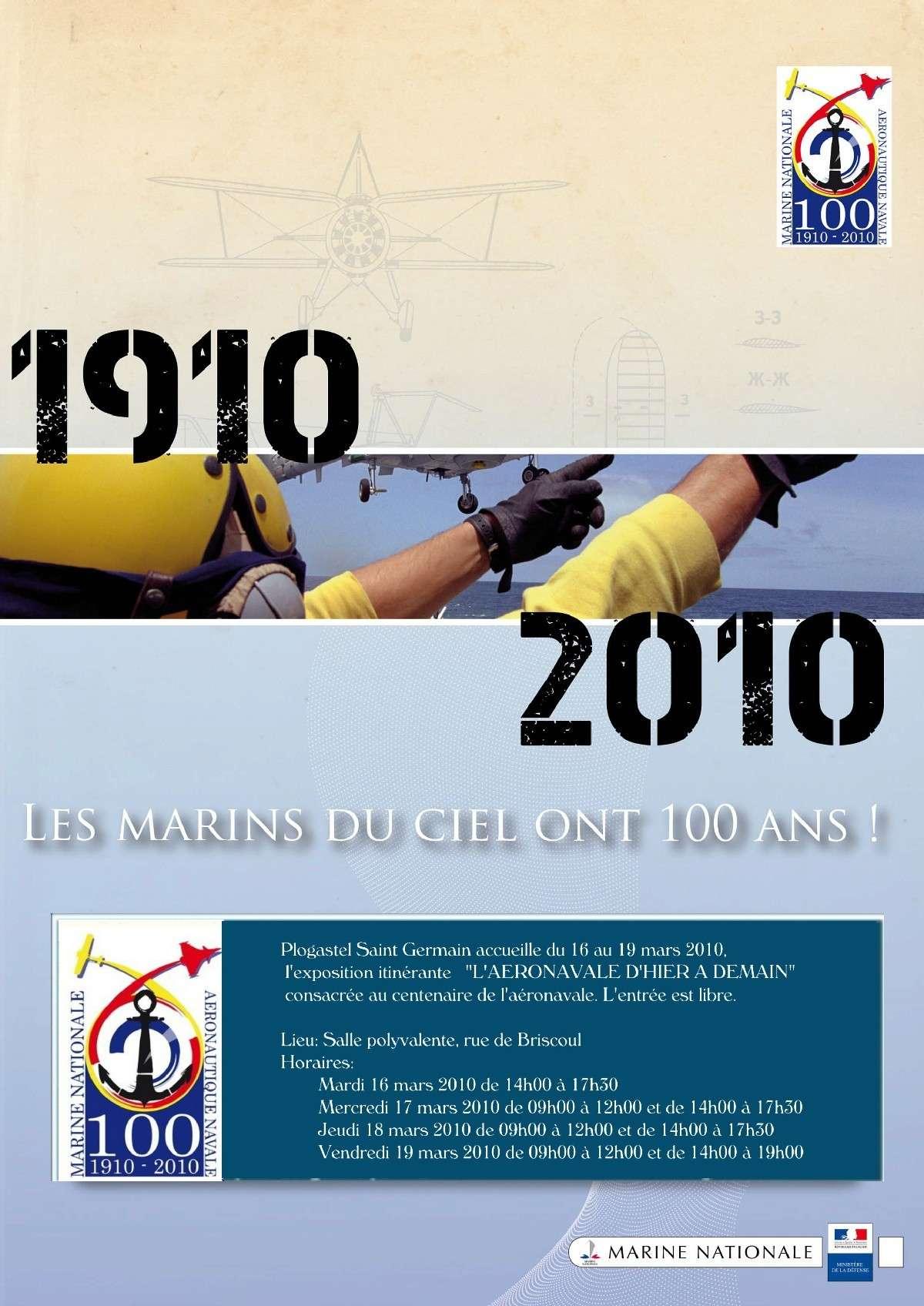 100 ème anniversaire de l'Aéronautique navale Affich10
