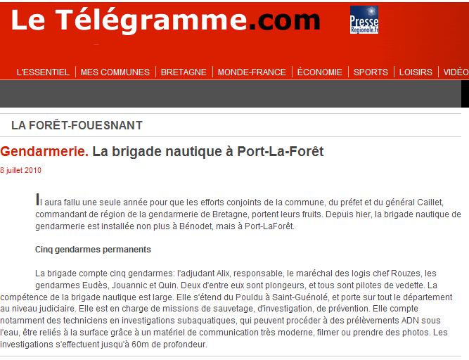 [ Divers Gendarmerie Maritime ] Contrôle - Page 3 Brigad10