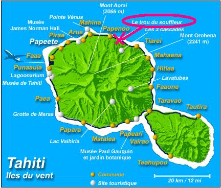 [Tahiti] Il n'y avait pas que le front de mer a Tahiti - Page 4 Carte14
