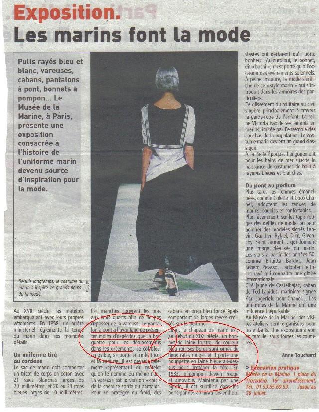 [ LES TRADITIONS DANS LA MARINE ] Pourquoi cette tenue est ainsi ? - Page 4 Copie_47